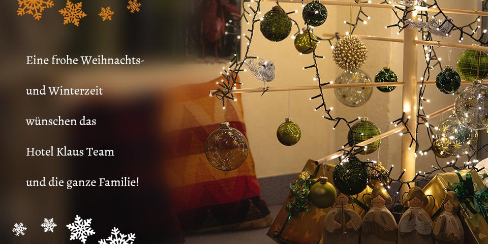 Weihnachtsgrüße aus dem Weinviertel